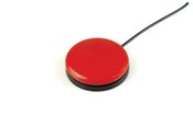 Buddy Button - (race car red)