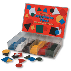 Attribute Tiles Manipulatives