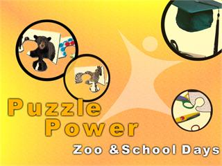 Puzzle Power - Zoo and School Days
