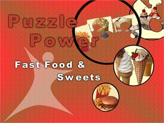 Puzzle Power - Fast Food & Sweets