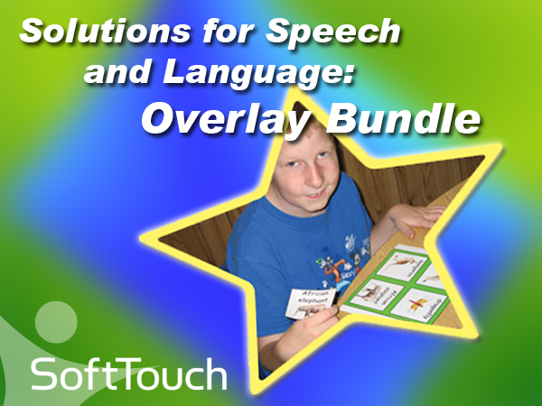 Solutions for Speech and Language Overlay Bundle (5 Overlays)