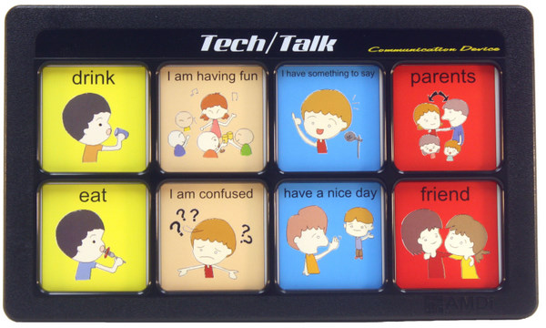 Tech/Talk 6 Levels with Input/Output Jacks & Extended Time