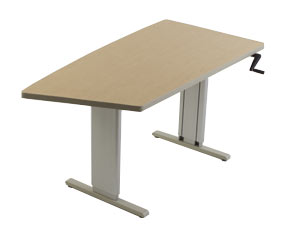 Acella Keel Sit to Stand Workstation