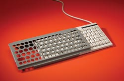 Compact Keyboard and Guard