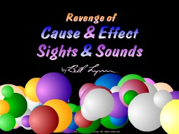 Revenge of Sights & Sounds